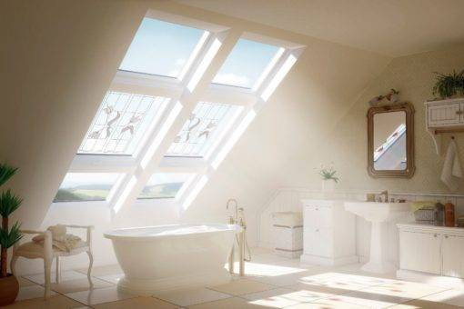 Optilight tlp okna dachowe PVC