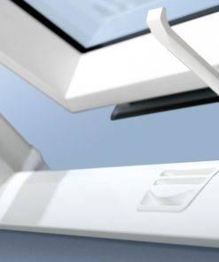 Optilight tlp okna dachowe PVC zamkniecie