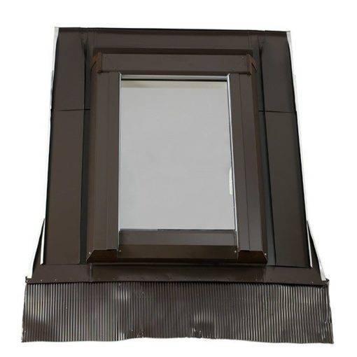 Plastikowe okno wyłazowe Skylight LOFT PREMIUM + kołnierz 2 Loft01
