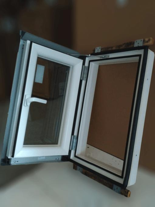 Sky Pre Loft Plastikowe okno wyłazowe Skylight LOFT PREMIUM + kołnierz 2