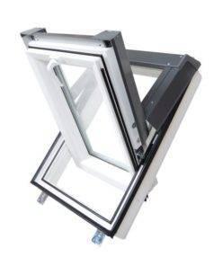 Plastikowe okno dachowe Skylight PREMIUM + kołnierz Sky Opb 000
