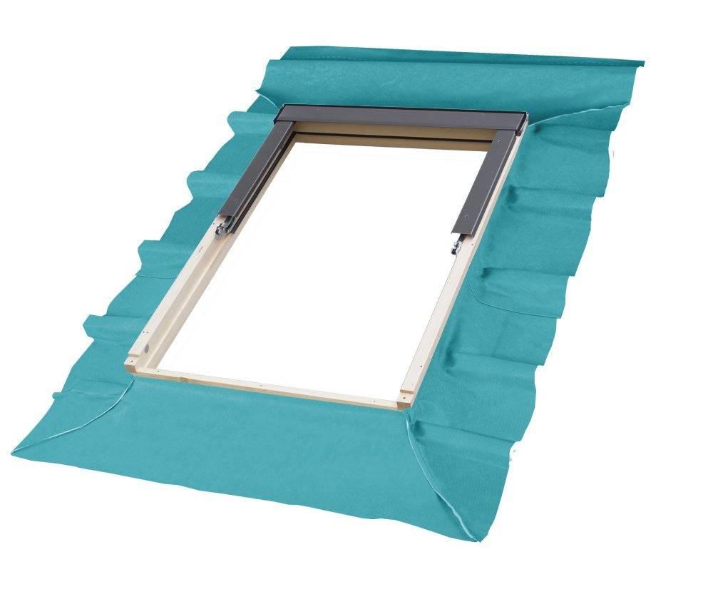 Membrana paroprzepuszczalna na oknie dachowym