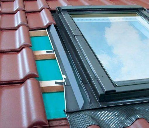 Kołnierz uszczelniający do okien dachowych OptiLight