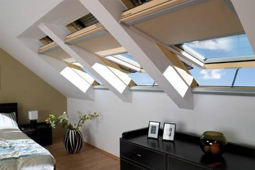 roleta zacieniająca do okien dachowych fakro oraz optilight