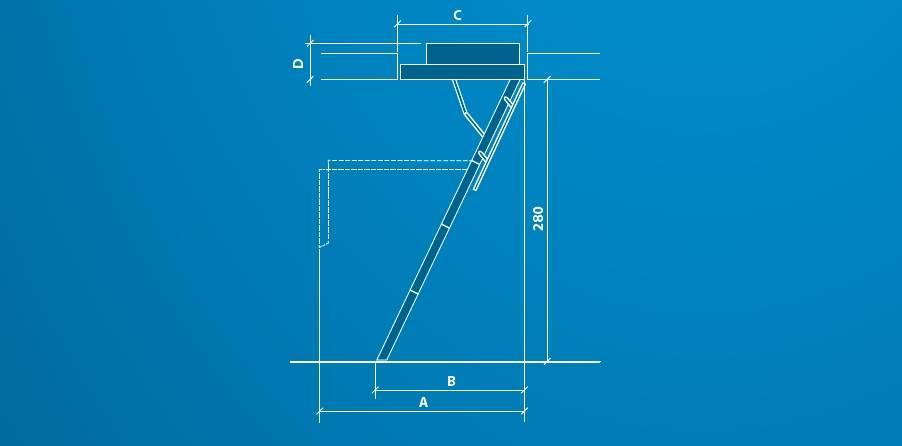 schody strychowe optistep ole wymiary
