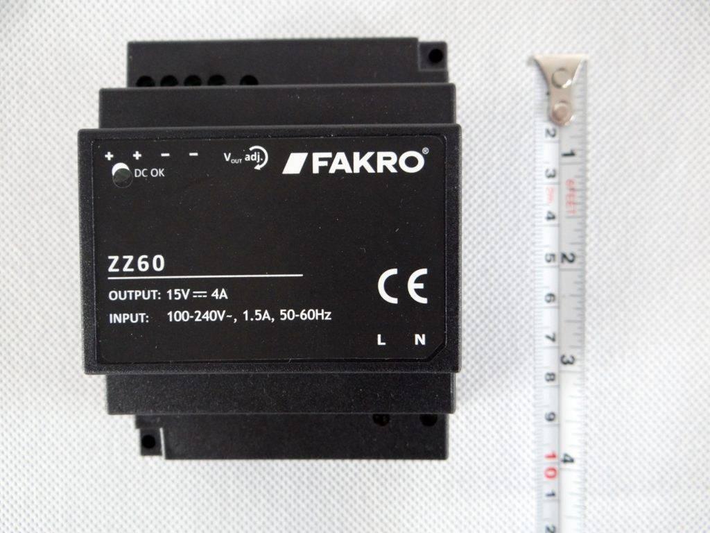 Zasilacz FAKRO ZZ60 2