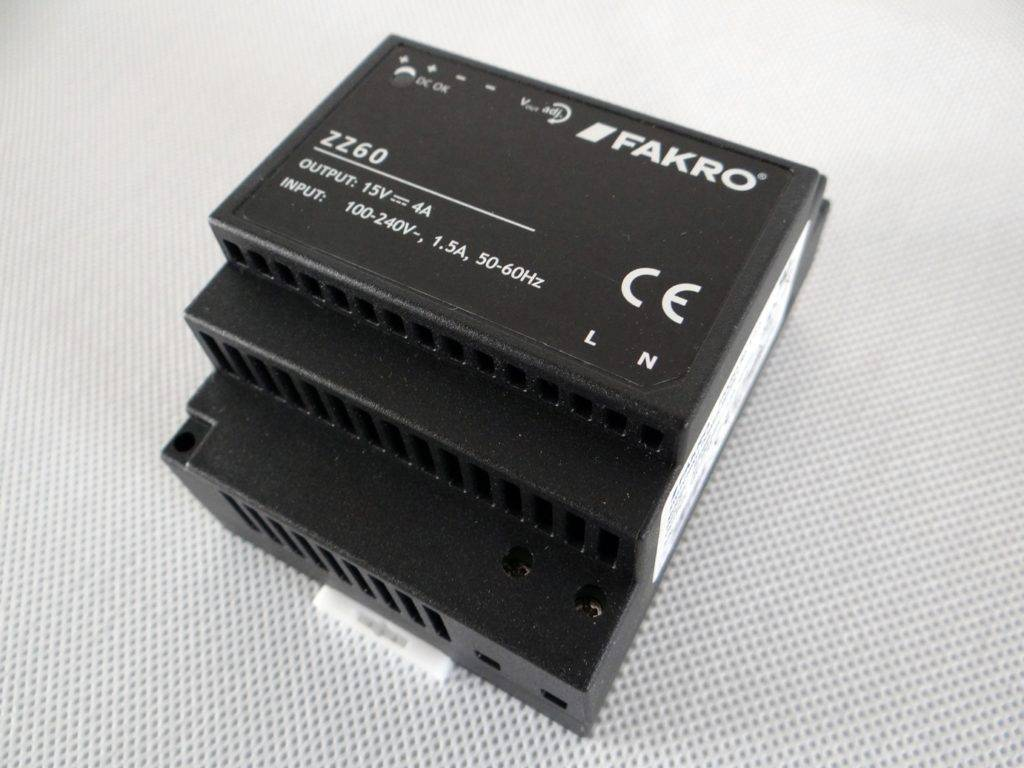 Zasilacz FAKRO ZZ60 3