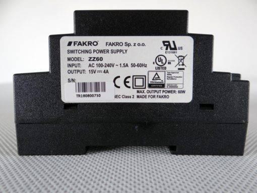 Zasilacz FAKRO ZZ60 1