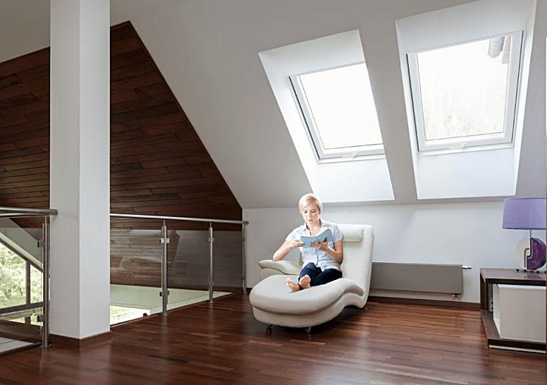 salon okna dachowe skylight