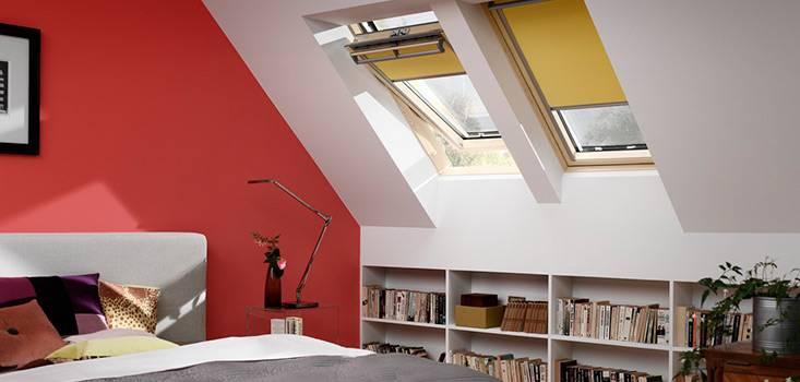roleta zaciemniająca velux dkl do okien dachowych 3