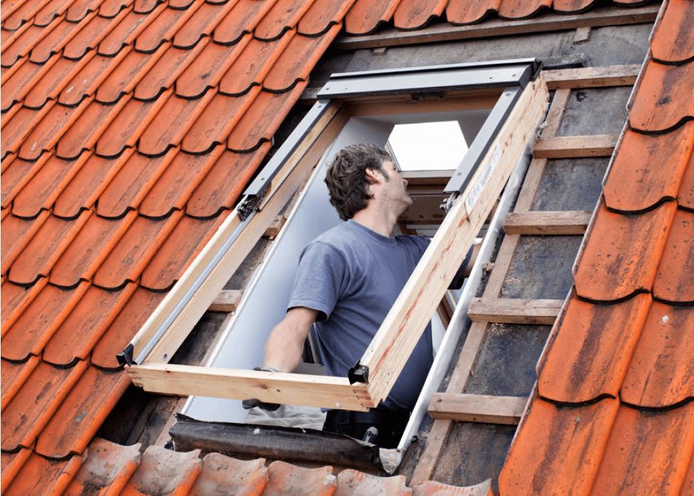 jak wymienic okna dachowe velux